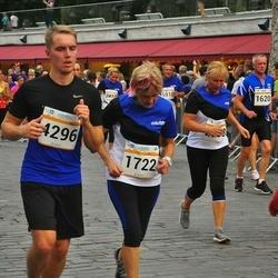 Tallinna Maratoni Sügisjooks 10 km - Heino Ploovits (1620), Olesja Roosmaa (1722), Anu Nõulik (2088), Marko Kivirand (2951), Arno Peever (4296)