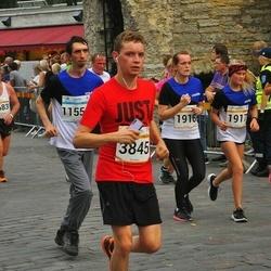 Tallinna Maratoni Sügisjooks 10 km - Kairi Kondimäe (1916), Meribel Kondimäe (1917), Triin Viitmaa (2056), Lembit Lohe (3683), Artjom Martonenko (3845)