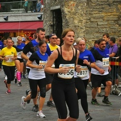 Tallinna Maratoni Sügisjooks 10 km - Arne Sarapuu (2100), Tetiana Novatska (2817), Evelin Edro (3156)