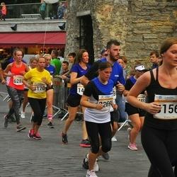 Tallinna Maratoni Sügisjooks 10 km - Arne Sarapuu (2100), Tuuli Pedras (2269), Evelin Edro (3156)