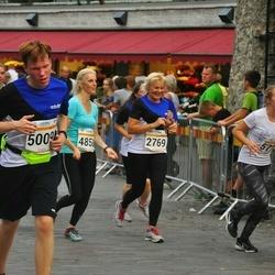 Tallinna Maratoni Sügisjooks 10 km - Aare Randma (577), Jaana Meejärv (2769), Kristi Loot (2905), Kaire Palm (4858), Reimo Soover (5009)