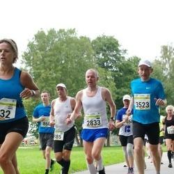 Tallinna Maraton - Mart Albert Mustkivi (860), Raivo Olgo (885), Ado Are (2833), Rait Põllendik (3523)