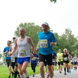 Tallinna Maraton - Ado Are (2833), Rait Põllendik (3523)