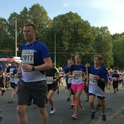 Tallinna Maratoni Sügisjooks 10 km - Jaanika Arm (3937), Andero Toomik (4533)