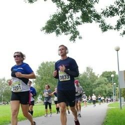 Tallinna Maraton - Annika Kinks (3201), Andre Maisväli (3833)