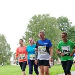 Tallinna Maraton - Ritva Salo (1966), Sabina Westerholm (2693), Jaana Ahlgren (2787), Ahlgren Aida (2789)