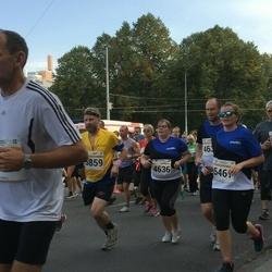 Tallinna Maratoni Sügisjooks 10 km - Merike Aasala (4636), Agnes Talalaev (5461), Mart Ostra (5859)