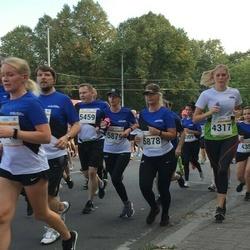 Tallinna Maratoni Sügisjooks 10 km - Annika Suup (4317), Tanel Põder (5459), Kristel Kuusemets (5878), Kadri Kilgi (5879)