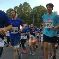 Tallinna Maratoni Sügisjooks 10 km - Veiko Kaarna (6615), Aaron Thor Härm (6760)