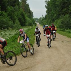 Türi Rattapoe jalgrattakross - Anni Jalakas (26), Tiina Nõmmik (87)