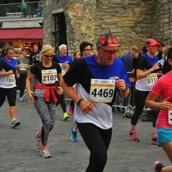 Tallinna Maratoni Sügisjooks 10 km - Hanna Marie Raag (1554), Anna Ojap (2103), Irina Vyatkina (3646), Margus Vendelin (4469), Karin Sahar-Lambinen (5119)