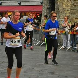 Tallinna Maratoni Sügisjooks 10 km - Maie Ojasaar (4510), Ago Luberg (5351)