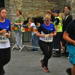 Tallinna Maratoni Sügisjooks 10 km - Marge Pent (2551), Mait Makkar (5848), Britta Pung (6471)