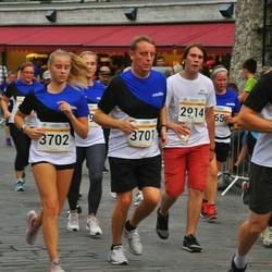 Tallinna Maratoni Sügisjooks 10 km - Sergei Gavrilov (2914), Andres Pastarus (3701), Annelise Pastarus (3702), Priit Berkmann (5347)