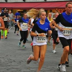 Tallinna Maratoni Sügisjooks 10 km - Andres Pastarus (3701), Annelise Pastarus (3702)