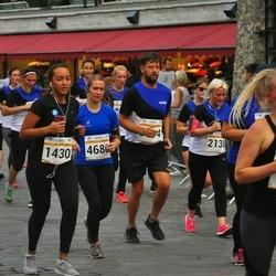 Tallinna Maratoni Sügisjooks 10 km - Ivo Jussmann (430), Olga Nožejeva (1329), Arina Alektorova (2138), Marju Kahro (4680)