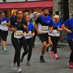 Tallinna Maratoni Sügisjooks 10 km - Anzelika Kulikova (1430), Arina Alektorova (2138), Jana Laaneser (2568), Marju Kahro (4680), Dave Kaljuste (5244)