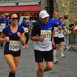Tallinna Maratoni Sügisjooks 10 km - Keia Laht (5566), Aavo Halling (6012)
