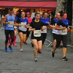 Tallinna Maratoni Sügisjooks 10 km - Jan Geisor (2155), Camilla Geisor (2156), Eliise-Koidula Kivimäe (4417), Piret Pilden (5451), Kaili Tshernov (6524)