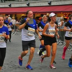 Tallinna Maratoni Sügisjooks 10 km - Jan Geisor (2155), Camilla Geisor (2156), Marie Helene Hein (3061), George Kazantzopoulos (3359), Meril Allikivi (4634)