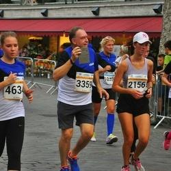Tallinna Maratoni Sügisjooks 10 km - Camilla Geisor (2156), Marie Helene Hein (3061), George Kazantzopoulos (3359), Meril Allikivi (4634)