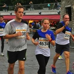 Tallinna Maratoni Sügisjooks 10 km - Camilla Geisor (2156), George Kazantzopoulos (3359), Meril Allikivi (4634), Arigio Somelar (4684)