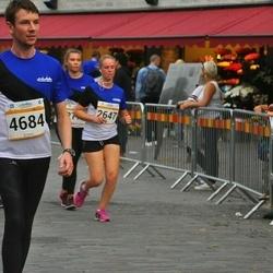 Tallinna Maratoni Sügisjooks 10 km - Aiki Arro (2647), Arigio Somelar (4684)