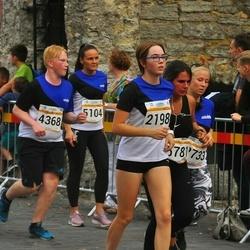 Tallinna Maratoni Sügisjooks 10 km - Laura Elisabeth Christel Lään (2198), Kristi Aimla (2733), Mart-Jürgen Kukermaa (4368), Annely Jaanson (5104)