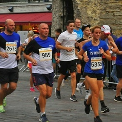 Tallinna Maratoni Sügisjooks 10 km - Aarne Lätte (989), Martin Hein (6521)