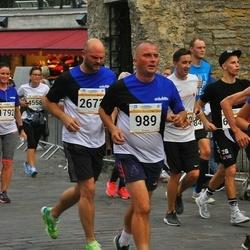 Tallinna Maratoni Sügisjooks 10 km - Aarne Lätte (989), Elina Õiesaar (1792), Martin Hein (6521)