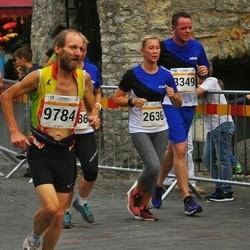 Tallinna Maratoni Sügisjooks 10 km - Laura-Liisa Käis (2636), Rainer Biemans (3349),   (9784), Age Utt (12473)