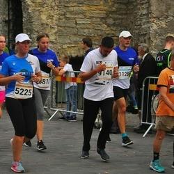 Tallinna Maratoni Sügisjooks 10 km - Age Kala (5225), Nikolay Postnikov (8803), Renat Roosipõld (9140), Imre Kollo (11285)