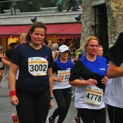 Tallinna Maratoni Sügisjooks 10 km - Reet Ronk (3002), Anneli Riima (4778)