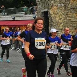 Tallinna Maratoni Sügisjooks 10 km - Reet Ronk (3002), Ele Haavandi (3132), Anneli Riima (4778), Kirsi Svarts (6272)