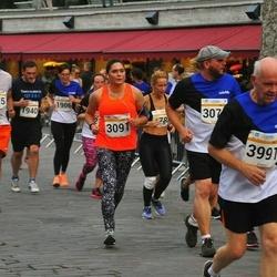 Tallinna Maratoni Sügisjooks 10 km - Ülle Varma (1906), Artur Minasjan (1940), Ksenia Guljaeva (3091), Hannu Mäkelä (3991), Evita Grundberga (6452), Sergio Miranda (6575)