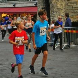 Tallinna Maratoni Sügisjooks 10 km - Artur Panov (4930), Valentin Zaporoztsev (4944)