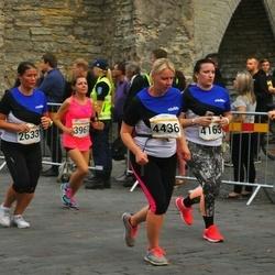 Tallinna Maratoni Sügisjooks 10 km - Aino Rummel (2633), Anna Semenova (3967), Kadi Kongot (4163), Kaja Kallasmäe (4436)