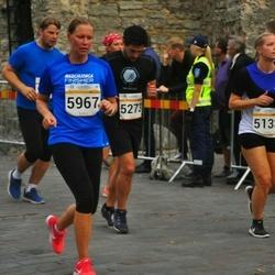 Tallinna Maratoni Sügisjooks 10 km - Liina Laan (5133), Adrian Suarez (5273), Karin Artel (5967)