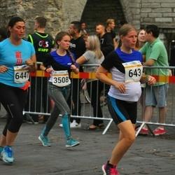 Tallinna Maratoni Sügisjooks 10 km - Liina Volmerson (643), Jaanika Raik (3508), Anahit Adamyan (6447)
