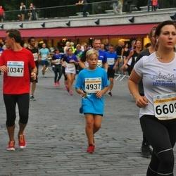Tallinna Maratoni Sügisjooks 10 km - Artjom Skatskov (4937), Migelyne Mahlapuu (6609), Nikita Lumijõe (10347)