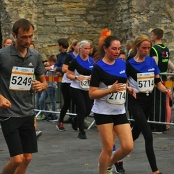 Tallinna Maratoni Sügisjooks 10 km - Anna Shishkova (2774), Maksim Korzin (5249), Nele Kivila (5714)