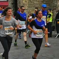 Tallinna Maratoni Sügisjooks 10 km - Ilmar Õigus (3139), Beril Aydogan (4399), Daria Ilic (6368), Uudo Kasuk (10913)