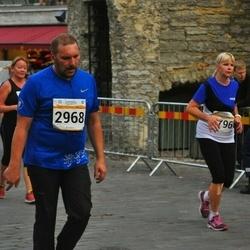 Tallinna Maratoni Sügisjooks 10 km - Viljar Pihelgas (2968), Andra Rannik (5796)