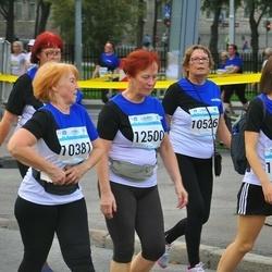 Tallinna Maratoni Sügisjooks 10 km - Ann Mandre (10381), Karin Laja (10526), Emma Võsa (11787), Kadri Peterson (12500)