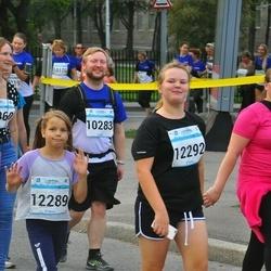 Tallinna Maratoni Sügisjooks 10 km - Kärola Sologub (12289), Agnes Väli (12292)