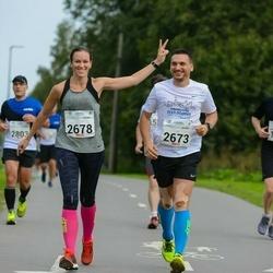 Tallinna Maraton - Marko Käis (2673), Anneli Laines (2678)