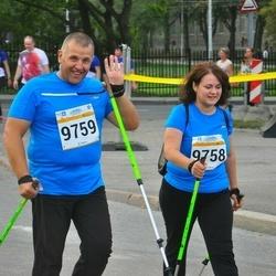 Tallinna Maratoni Sügisjooks 10 km - Marina Mamontov (9758), Alexander Mamontov (9759)