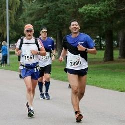 Tallinna Maraton - Arto Ylikotila (1951), Jose Garcia Estrada (2080)