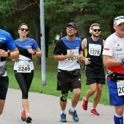 Tallinna Maraton - Roman Teemant (1348), Wojciech Machnik (2088), Anneliis Vallimäe (2249)