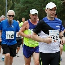 Tallinna Maraton - Juhan Haldre (1545), Christer Kallio (1593)
